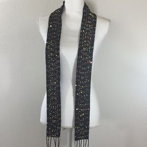 Accessories - DSKS Sequined Black Scarf NWT